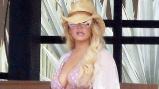 Jessica Simpson Displays Svelte Bikini Body, Cleavage in Cabo — See the Party Pics!