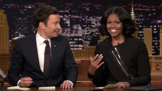 Michelle Obama Writes Funny Thank You Note to Husband Barack With Jimmy Fallon