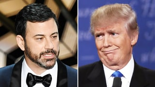 Jimmy Kimmel Tweets at Donald Trump During Oscars 2017: Meryl Streep 'Says Hi'