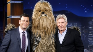 Harrison Ford Ends His Feud With Chewbacca on Jimmy Kimmel Live