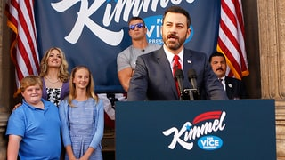 Jimmy Kimmel Running for Vice President of the United States?! Watch His Hilarious Announcement