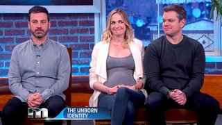 Matt Damon Says He's the Father of Jimmy Kimmel's Baby, Takes Paternity Test on the 'Maury' Show