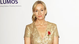 J.K. Rowling Dines With President Barack Obama During His London Visit