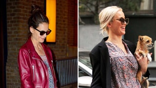 Katie Holmes, Jennifer Lawrence Wear Casual Dresses in the Same Print: Who Wore It Best?