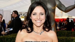 Julia Louis-Dreyfus Pre-SAGs Gooey, Green Face Mask Found