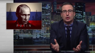 See John Oliver's Warning to Trump About Vladimir Putin, Russia