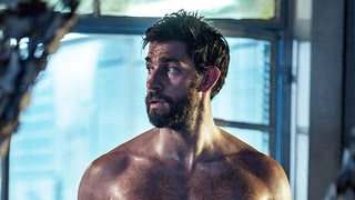 John Krasinski Goes Shirtless, Shows Off His Six-Pack in New Pic From '13 Hours'