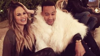 Chrissy Teigen Jokes That Her Expanding Bust 'Incredible Hulk'ed' Her Lace Dress