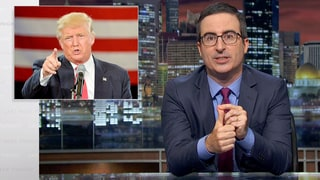 John Oliver Eviscerates 'Sociopathic Narcissist' Donald Trump Over His Khan Family Comments