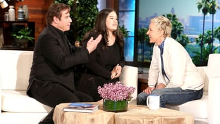 John Travolta, Ellen DeGeneres Teach His Daughter Ella, 16, How to Parallel Park: Hilarious Video