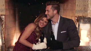 Bachelorette JoJo Fletcher Flirts on Fake-Snow Date — and Ends Up in the Guy's Lap!