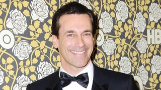 Jon Hamm's Golden Globe Award Misspelled His Name: 'Guys, There's No H'