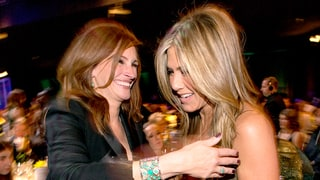 Jennifer Aniston Was Intimidated by Costar Julia Roberts: 'I Even Flubbed' the First Scene