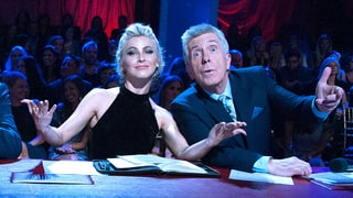 Julianne Hough Hid the Best Part of Her Dress Under the Judges' Table on 'DWTS'