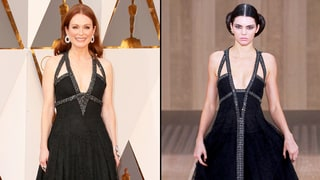 Julianne Moore's Oscars 2016 Gown Is the Same Dress Kendall Jenner Rocked on the Chanel Runway