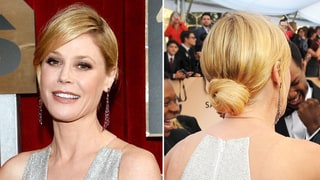 Julie Bowen's Low Chignon