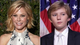 Julie Bowen Criticized for Poking Fun at Barron Trump During Inauguration: 'Just Trying to Keep It Light'