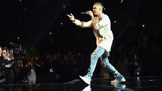 Justin Bieber Falls Through the Stage During Concert in Canada: See the Scary Tumble