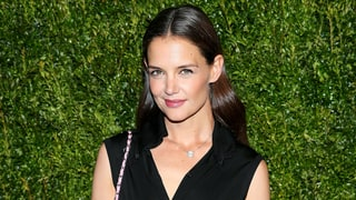 Katie Holmes Proves the Slimming Power of High-Waisted Pants