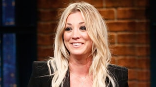 Kaley Cuoco Brings Back Her 'Penny'-Length Lob Hairstyle