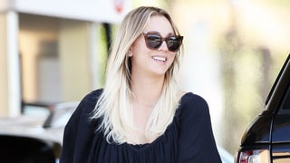 Kaley Cuoco Kisses Boyfriend Karl Cook While Pumping Gas — See the Pic of Their PDA