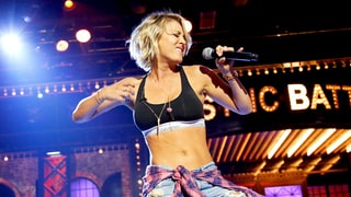 Kaley Cuoco Shows Off Her Killer Abs While Performing 'Move Bitch' on 'Lip Sync Battle': Watch!