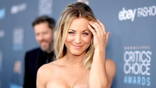 Kaley Cuoco's Critics' Choice Red Carpet Hair Is Even Sweeter From the Back