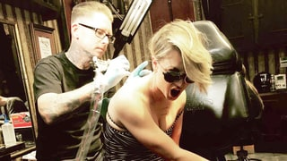 Kaley Cuoco Covers Wedding Date Tattoo With a Giant Moth: I'm Righting My Wrongs