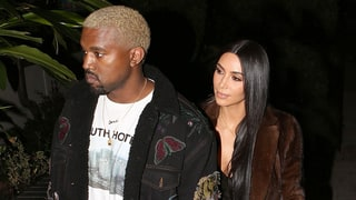 Kim Kardashian and Kanye West Enjoy Romantic Dinner Date in L.A.