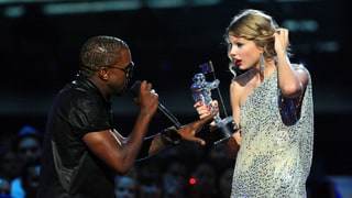 Kanye West Bum-Rushes Taylor Swift's Winning Speech, 2009