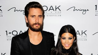 Scott Disick Jokes That Kourtney Kardashian 'Looks Like a Panda' in Face Mask and Bathrobe