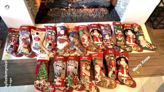Everyone Got a Stocking at the Kardashian-Jenner Family's Christmas Celebration Except Blac Chyna