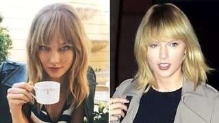Karlie Kloss Gets Bangs Just Like Bestie Taylor Swift