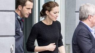 Duchess Kate Dresses Down in Black Jeans, Sneakers, Messy Hair After Boat Race