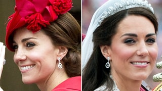 Duchess Kate Wears Her Bespoke Wedding Earrings Again
