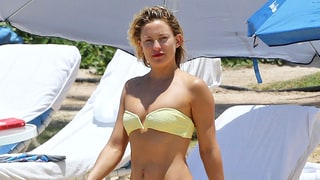 Kate Hudson Is the Embodiment of Sunshine in This Yellow Bikini