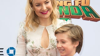Kate Hudson Debuts Shorter Haircut as She Brings Sons as Her Dates for 'Kung Fu Panda 3' Premiere