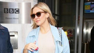 Kate Hudson Steps Out in a Chambray Pantsuit: Love It or Hate It?