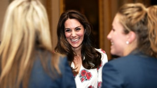 Duchess Kate Wears a Symbolic (and Stylish) Dress to Fete With Athletes