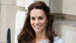 Kate Middleton Tweaks Her Signature Half-Up Hairstyle