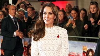 Duchess Kate Steals the Scene in a Maxi Dress With a Daring Slit