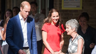Duchess Kate's Vibrant Red Dress Will Brighten Your Day