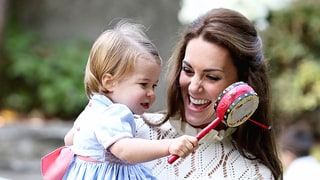 Princess Charlotte, Prince George Have the Best Day Playing With Balloons and Ponies: Cutest Pics Ever