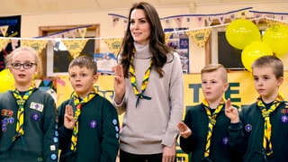 Duchess Kate Became a Cub Scout for a Day in Honor of the Organization's 100th Anniversary: Pics