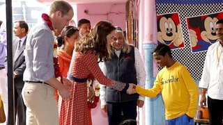 Kate Middleton, Prince William Meet With Vulnerable, At-Risk Children in India: Heartbreaking Details, Photos