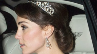 Kate Middleton Wears One of Princess Diana's Beloved Pearl and Diamond Tiaras: Photos
