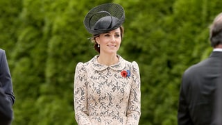Kate Middleton Looks Especially Ladylike in New Peplum Lace Dress