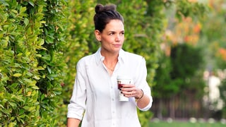 Katie Holmes Highlights Her Mile-Long Legs in Ripped Skinny Jeans