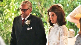 Katie Holmes Becomes Jacqueline Kennedy Onassis for Wedding Scene in 'The Kennedys: After Camelot'