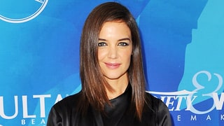 Katie Holmes, Family Recover From a Food Coma: Watch